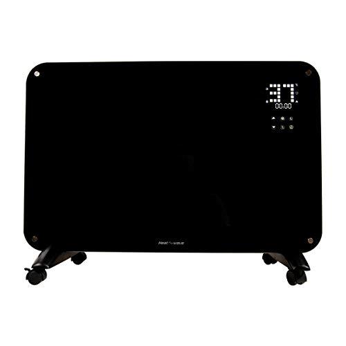 Calefactor Electrico Minimalista Pantalla LED Touch Para Calefacción Hogar Casa Oficina Heat wave