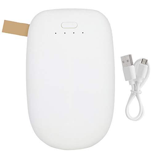 Prestazioni stabili 10400 Mah Batteria Mobile Power Souce, Power Bank portatile, per studenti adulti(white)