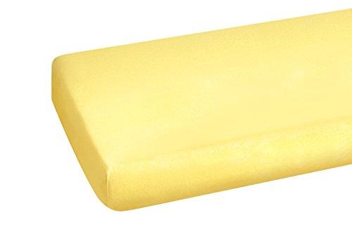 Heike Spannbettlaken, vanille, 90 x 190 bis 100 x 200 cm