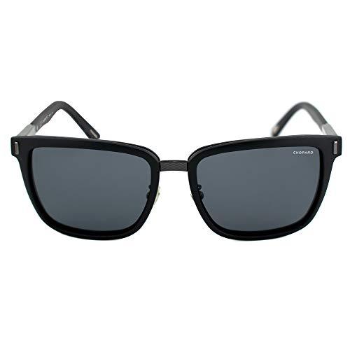 Chopard Gafas de Sol Hombre SCH-B84-U28P (Diametro 56 mm), Black, Talla Unica Unisex-Adult