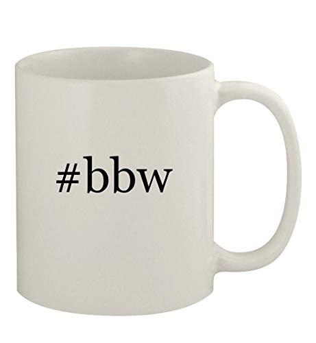 #bbw - 11oz Ceramic White Coffee Mug, White