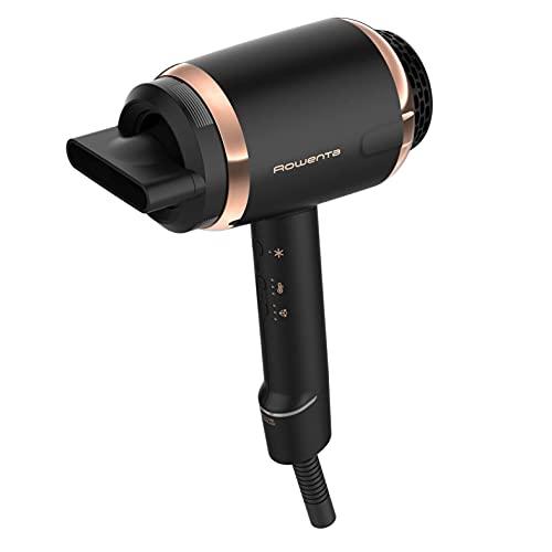 Rowenta Ultimate Experience CV9820- Secador de pelo profesional,1500 W, motor digital, ligero, iónico dual, ajustes temperatura y velocidad, caudal de aire de 160 km/h (Reacondicionado)
