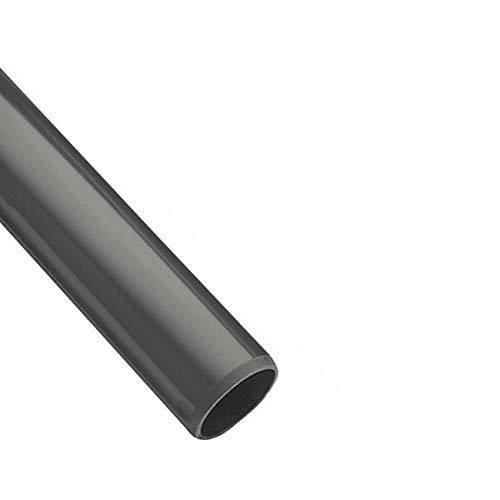 Original EXCOLO PVC Rohr 32 sowie Rohrverbinder Winkel Kniestück Muffen T-Stück Kappen (1m Rohr-Stück Ø32mm)