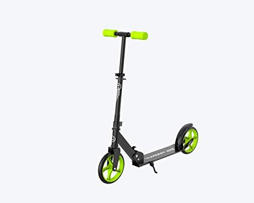 INVIDA Speedy One Kick-Racer Scooter Roller Kickscooter Funscooter Cityroller (Grün)