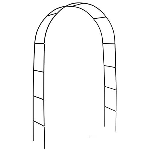 STOYRB - Arco da giardino, pergolato in metallo per piante rampicanti, 3 misure regolabili