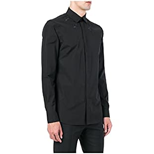 Givenchy - Men's Cotton Shirt - Black, 42 (cm - 16 1/2 inches - Collar)