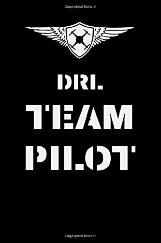 DRL Team Pilot: 6x9 inch, lined notebook, 110 pages