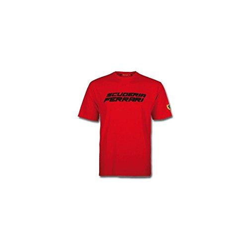 Ferrari T-Shirt pour Homme École Rouge Taille XXL