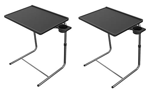 Adjustable TV Tray Table - TV Dinner Tray on Bed & Sofa,...