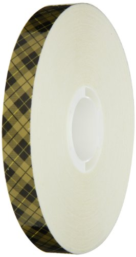 Scotch ATG Adhesive Transfer Tape Acid Free 908, Gold, 1/2 in x 60 yd, 2 mil