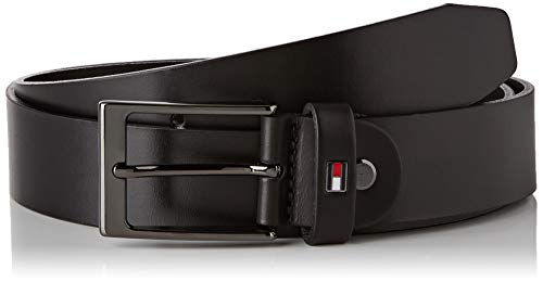 Tommy Hilfiger Layton Adjustable 3.5 Cintura, Nero (Black Bds), (Taglia Produttore: 105) Uomo