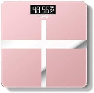 Báscula de baño digital Índice cuerpo de la escala de peso inteligente báscula baño báscula digital de pantalla LCD escala de peso electrónica báscula peso corporal (Color : China, Size : Charge)