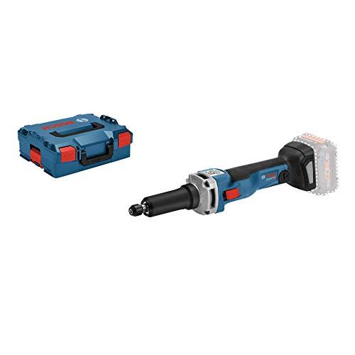 Bosch Professional GGS 18V-23 LC Amoladora recta, 23000 rpm, pinza diámetro máximo 8 mm, en L-BOXX, 18 V, Azul, Size