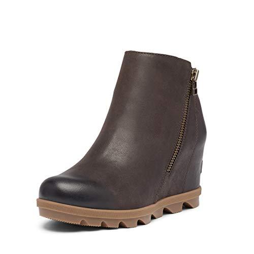 Sorel Joan of Arctic Wedge II Zip Boot - Women's Blackened Brown, 8.0