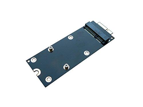 KALEA INFORMATIQUE Adattatore per montare un SSD mSATA su un Mac Pro Retina 2012 A1425 A1398 MC975 MC976 ME662 ME664 ME665