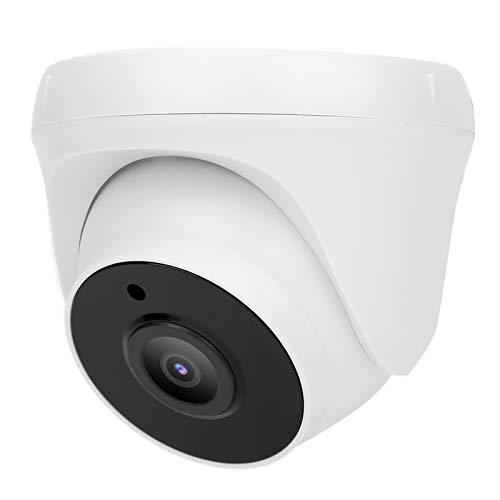 T angxi Cámara Domo AHD de 5MP, AHD Coaxial Analógica HD PIR Detección de Movimiento por Infrarrojos Hemisferio Interior 5 MP1080p Cámara de visión Nocturna de vigilancia CCTV Impermeable(EU)