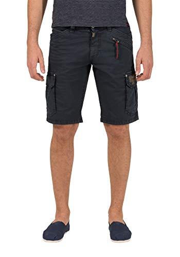 Timezone Herren Regular RykerTZ Shorts, Blau (Washed Navy 3248), W32