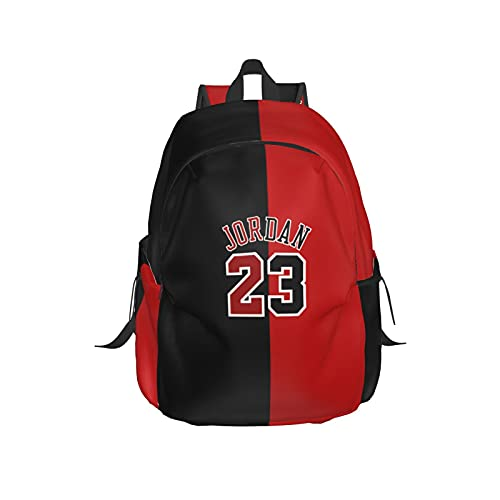 Goat 23 Jordan Fans Man'S Womens Backpack Adjustable Large Capacity Bags
