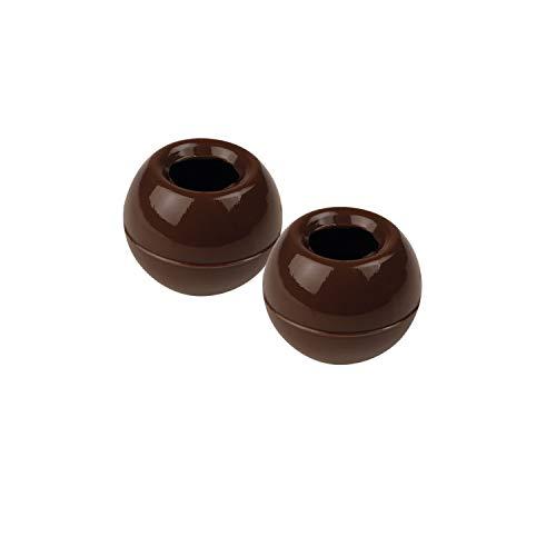 63 Pralinen Hohlkugel zum Füllen, dunkle Schokolade | DIY Pralinen | Pralinen selber machen