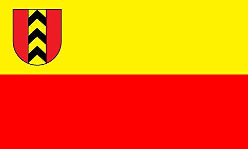 Unbekannt magFlags Tisch-Fahne/Tisch-Flagge: Badenweiler 15x25cm inkl. Tisch-Ständer