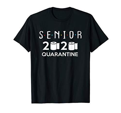 Senior 2020 Toilet Paper Quarantined - Men Women Boys Girls T-Shirt