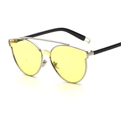 NIFG Sonnenbrille einteilige Objektivart und weise klassische europäische und amerikanische Straße, die Sonnenbrille, 140 * 142 * 60mm, D fotografiert