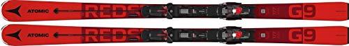 ATOMIC Redster G9 + X 12 Gw Ski, Unisex, Erwachsene, Unisex, AASS02376171, rot (rot), 171 cm