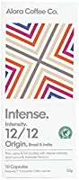 Alora Coffee Co, 1 pack of 10 Nespresso Compatible pods (10 pods total), Intense