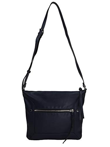 ESPRIT Damen Handtasche Tasche Schultertasche Mia M shoulderbag Blau 039EA1O016