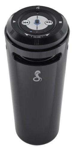 Cobra AirWave 360 - Altavoz portátil con Bluetooth, Color Negro