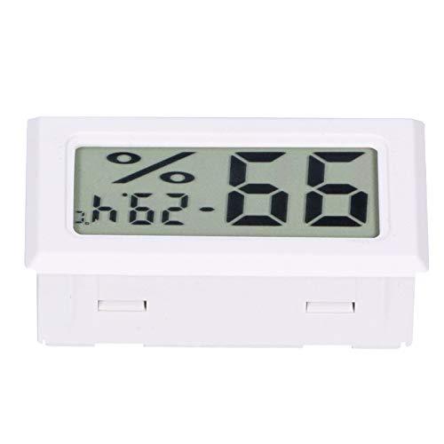 Voluxe Termómetro digital, medidor de temperatura digital para el hogar para el interior (blanco)