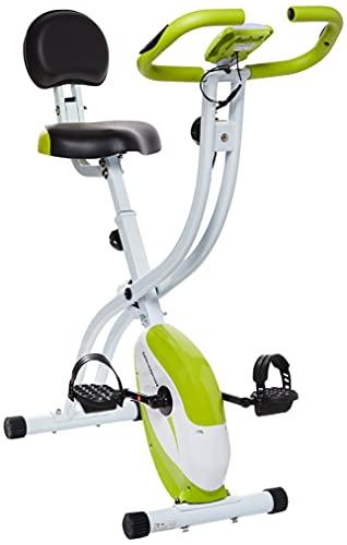 Ultrasport - F-Bike 200B - Vélo d'appartement avec dossier, vélo fitness, vert