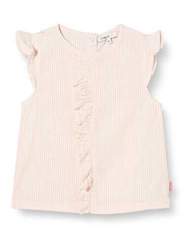 Noppies G Blouse Cap Chino Hills Y/d Str Blusa, Rosa (Impatiens Pink P029), 74 para Bebés