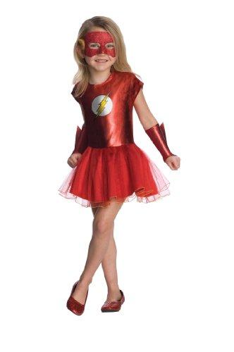Rubie's Justice League Child's Flash Tutu Dress - Toddler, Model:881630