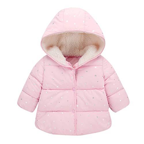 Fulltime (TM) - Abrigo de invierno con capucha para niños y niñas