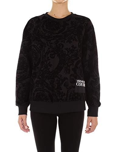 Versace Jeans Couture Felpa Sudadera, Negro (Negro 899), X-Small (Talla del Fabricante: 38) para Mujer