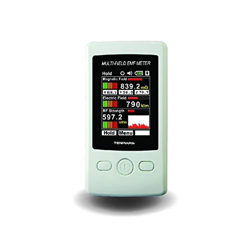 HUIOU TM-190 Multi-Field EMF Meter Electromagnetic Field/Electric Field/RF Strenght Field