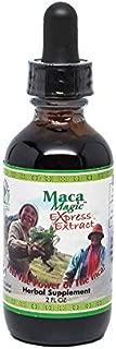 Maca Magic: Liquid Express Extract (2oz) Peruvian Premium Grade Maca - Liquid for Fast Absorption - Black Maca, Red Maca, Purple Maca, Yellow Maca - Organic - Certified Kosher - Vegan - Gluten Free