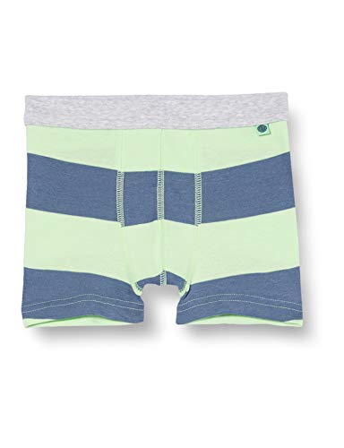 Sanetta Jungen Shorts grün Boxershorts, Lime, 116