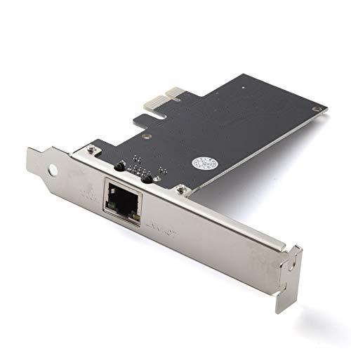Hodoson 10/100/1000 Mbps PCIe Netzwerkkarte, Gigabit Ethernet Adapter PCI Express, PCI-e X1 RJ45 LAN Karte für PC, unterstützt Windows XP/7/8/10