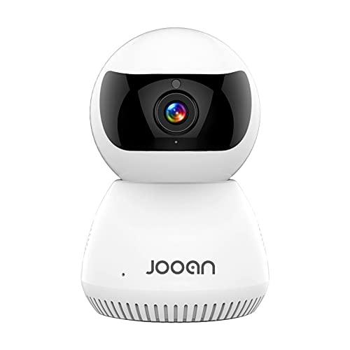 ErLaLa Cámara de vigilancia WiFi Interior 1080P,Compatible con Alexa,cámara de Seguridad para Mascotas para bebés,Q6 (sin autonomía)