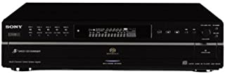 Sony SCD-CE595 5-Disc CD/Super Audio CD Player (Discontinued by Manufacturer) (Renewed)