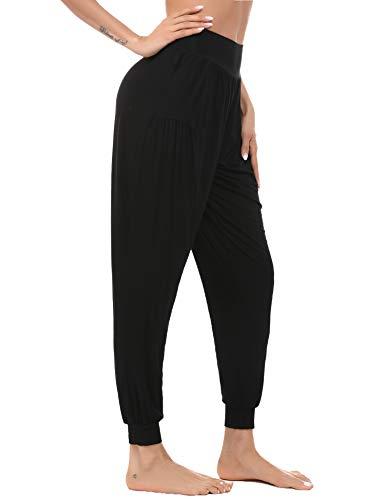 Akalnny Donna Yoga Pants Pantaloni da Donna Pantaloni Pigiama Donna Tuta Larghi Morbido e Confortevole, per Hippies Pilates Jogging Fitness Danza