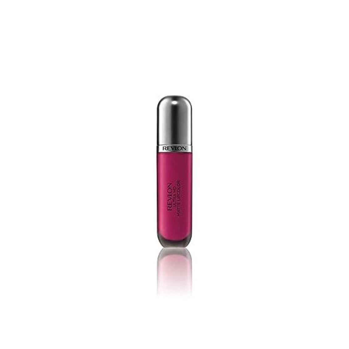発信値する即席レブロンウルトラマット口紅中毒5.9ミリリットル x4 - Revlon Ultra HD Matte Lipstick Addiction 5.9ml (Pack of 4) [並行輸入品]