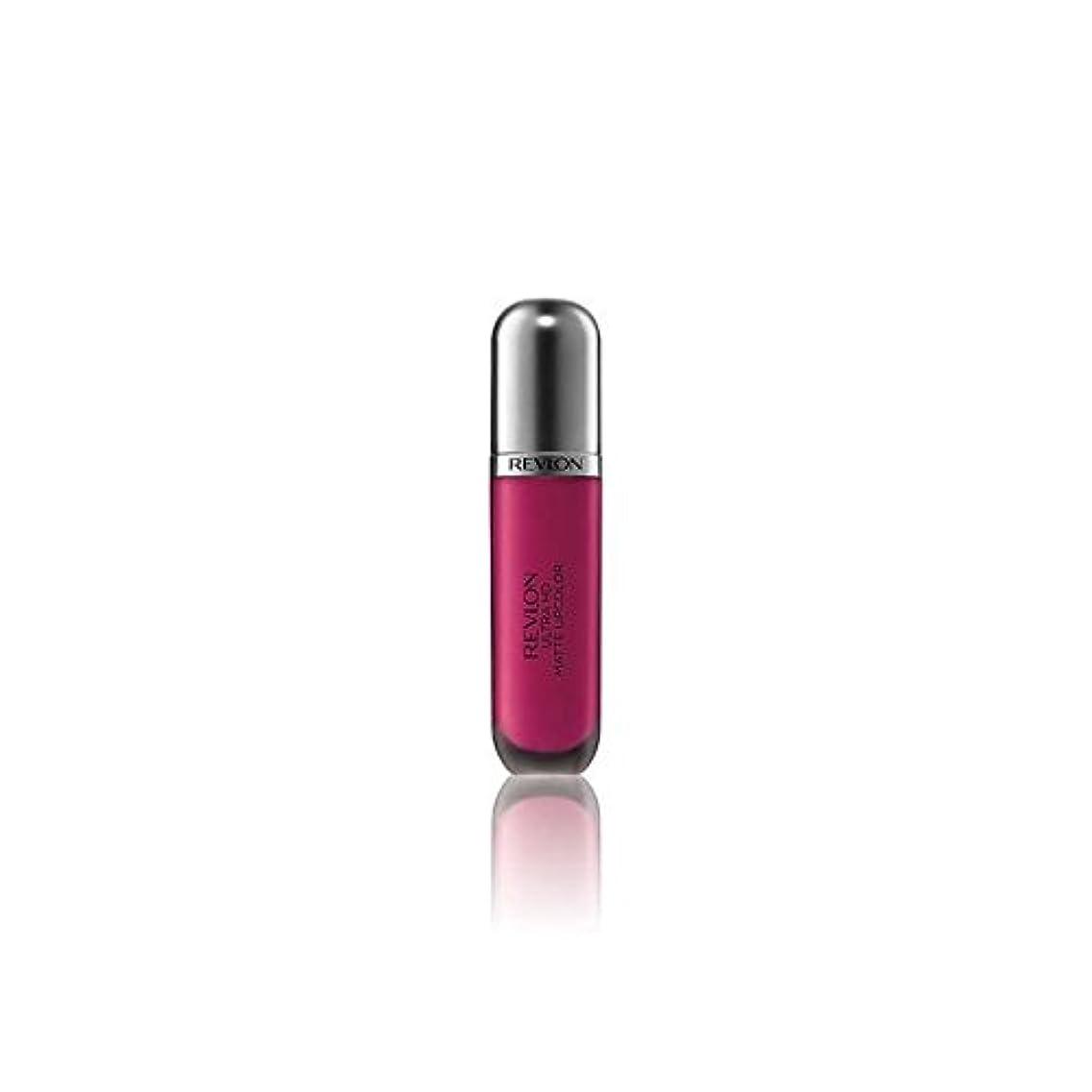 備品アシスト金属Revlon Ultra HD Matte Lipstick Addiction 5.9ml (Pack of 6) - レブロンウルトラマット口紅中毒5.9ミリリットル x6 [並行輸入品]