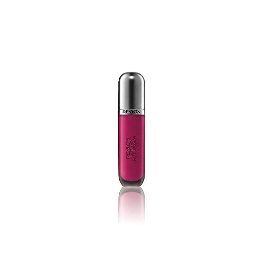 チャットトランク担当者Revlon Ultra HD Matte Lipstick Addiction 5.9ml - レブロンウルトラマット口紅中毒5.9ミリリットル [並行輸入品]
