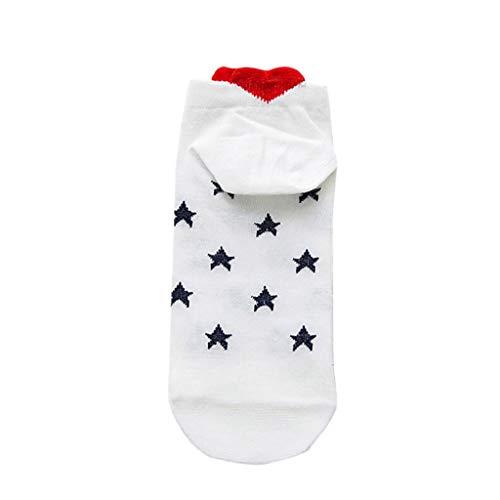 LUCKYCAT Calcetines para Mujer y Hombre - Calcetines Termicos Mujer Invierno Divertidos Calcetines de Algodón Socks Calcetines Corta para Mujer