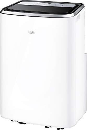 AEG ChillFlexPro AXP26U338CW 64dB Negro, Plata, Blanco - Aire Acondicionado portátil (A, 1 kWh, LED, 476 mm, 385 mm)