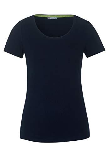 Street One Damen 315078 T-Shirt, deep Blue, 42