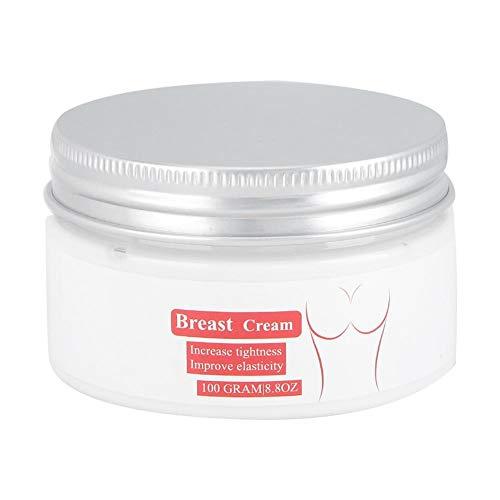 Crema para agrandar el busto, 100G Crema reafirmante segura, segura para la firmeza Mejora del busto Las mujeres previenen la flacidez